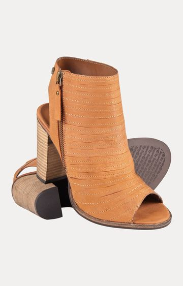 Superdry | Cara Cut Tan Ankle Length Boots
