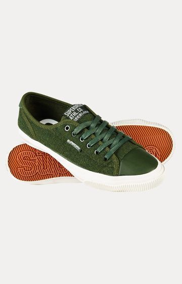 Superdry | Low Pro Luxe Green Sneakers