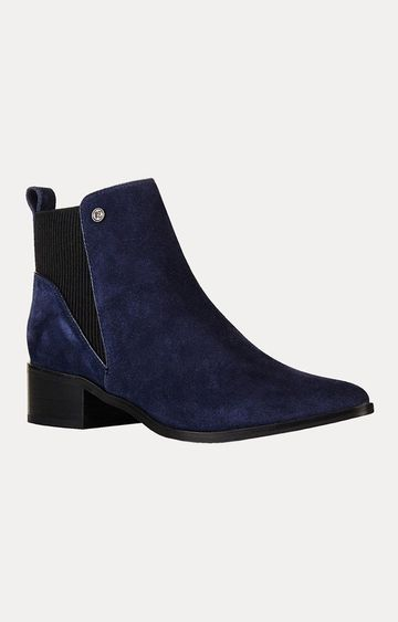 Superdry | Quinn Ribbed Chelsea Dark Navy Boots