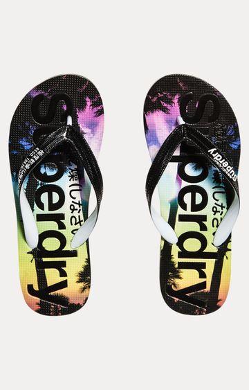 Superdry   Multicoloured Flip Flops