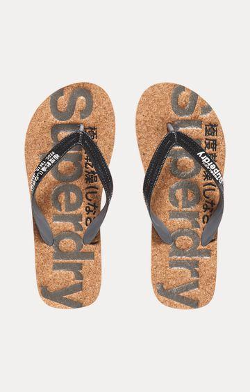 Superdry | Brown Flip flops