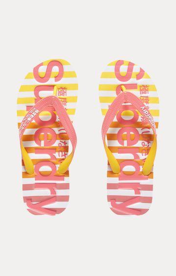 Superdry   Pink Flip flops