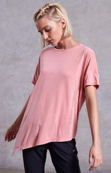 Superdry | Dusk Pink Melange T-Shirt