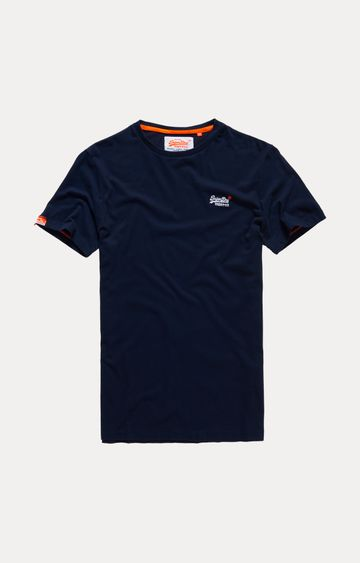 Superdry | Navy Solid T-Shirt