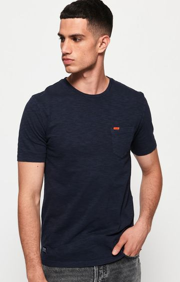 Superdry | Navy Melange T-Shirt