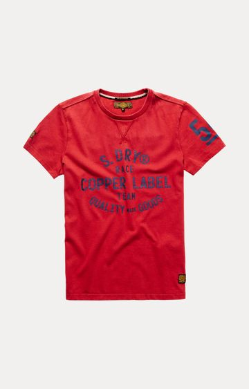 Superdry | Red Printed T-Shirt