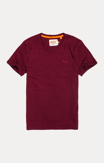 Superdry | Drill Red Solid T-Shirt