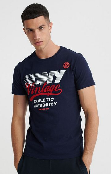 Superdry | Strong Navy SDRY NY Vintage Tee