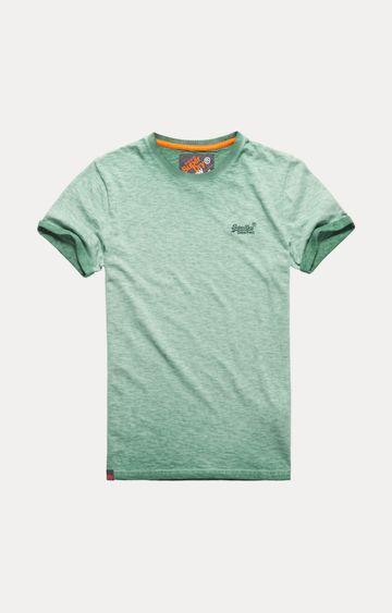 Superdry | Green Melange T-Shirt