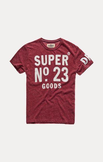 Superdry | Wine Printed T-Shirt