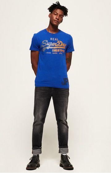 Superdry | Portland Cobalt Printed T-Shirt