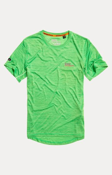 Superdry | Electric Green Melange T-Shirt