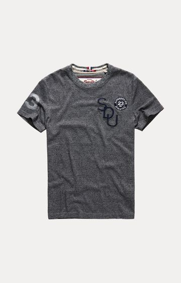 Superdry | Grey Melange T-Shirt