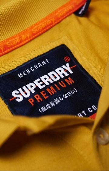 Superdry | Superdry Yellow Men Polos