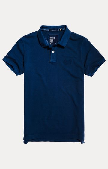 Superdry | Boston Blue Solid T-Shirt