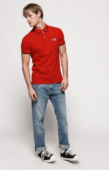 Superdry | Superdry Red Men Polo