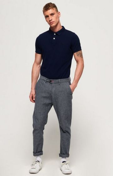 Superdry   Superdry Navy Men Polo