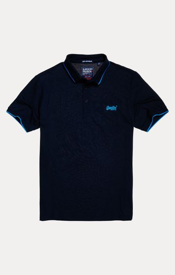 Superdry | Yacht Navy Solid T-Shirt