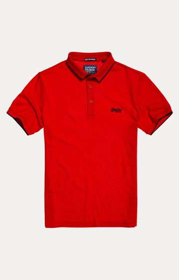 Superdry | Yacht Red Solid T-Shirt