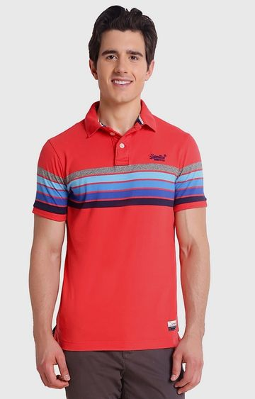 Superdry | Red Striped T-Shirt