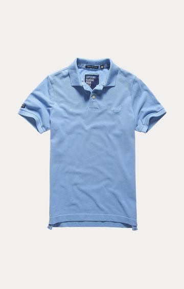 Superdry | Blue Solid T-Shirt