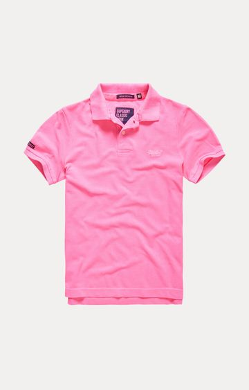 Superdry | Pink Solid T-Shirt