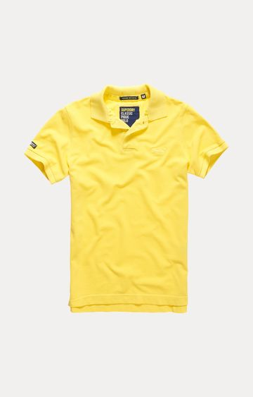 Superdry | Yellow Solid T-Shirt