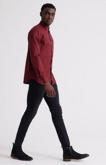 Superdry | Superdry Red Men Casual Shirts