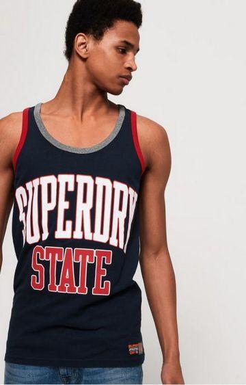 Superdry | Superdry Navy Men T-Shirt