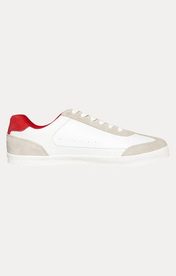 Superdry | White and Red Sneakers
