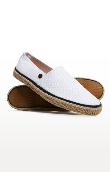 Superdry | White Casual Slip-ons