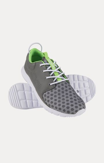 Superdry | Superdry Sport Weave Grey Running Shoes