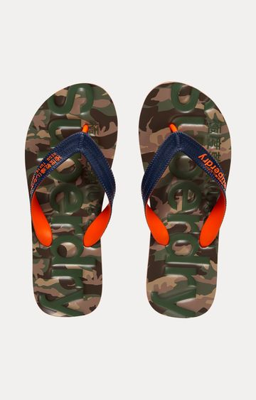 Superdry | Green Flip Flops