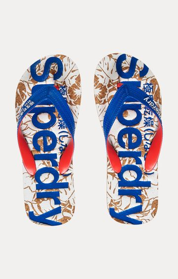 Superdry | Blue Flip Flops