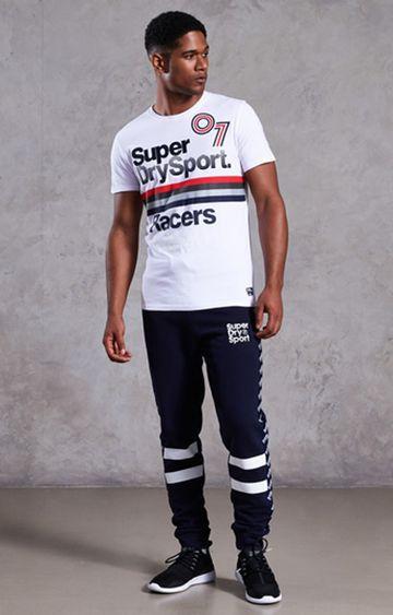 Superdry | Optic White Printed T-Shirt