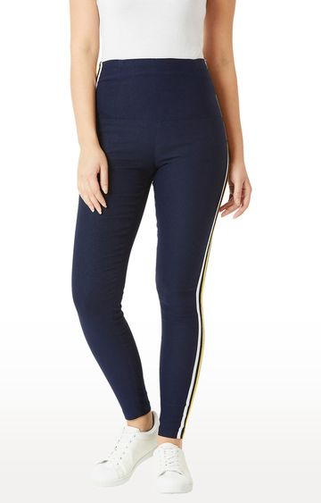 MISS CHASE   Navy Jeggings