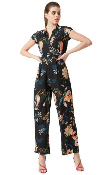 MISS CHASE | Multicoloured Floral Jumpsuit