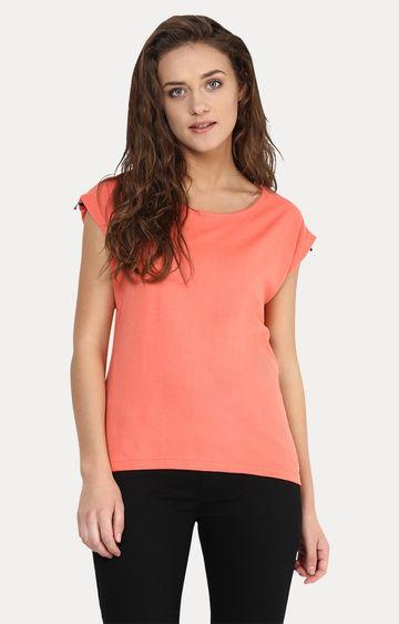 MISS CHASE | Orange Fleeting Love T-Shirt
