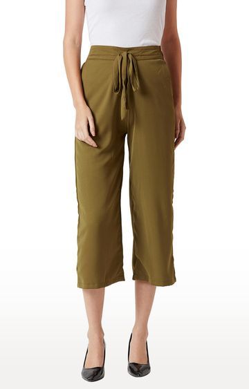 MISS CHASE | Olive Culottes