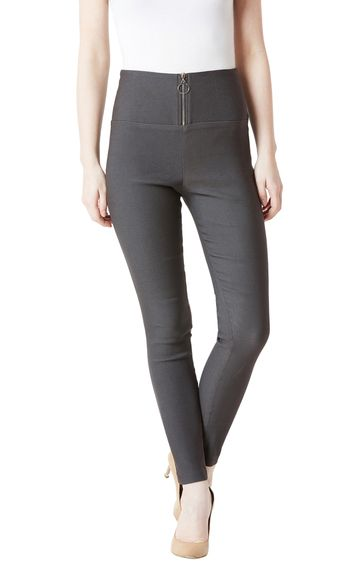 MISS CHASE | Dark Grey Jeggings