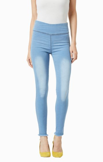 MISS CHASE | Blue Jeggings