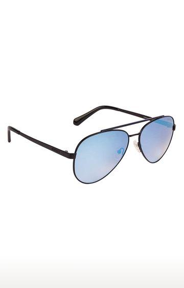 GUESS | Aviator Sunglass with Blue Lens