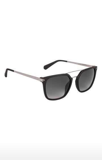 GUESS   Retro Square Sunglass with Grey Lens
