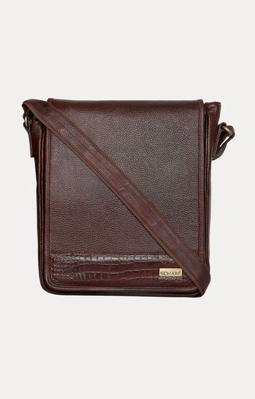 SCHARF | Brown Sling Bag