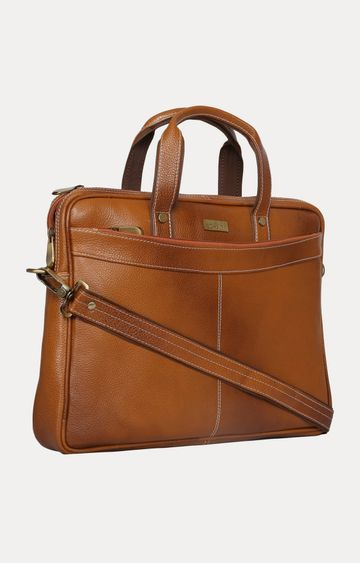 SCHARF | Tan Laptop Bag