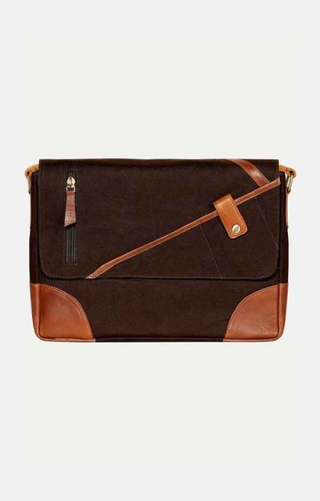 SCHARF | Brown Messenger Bag