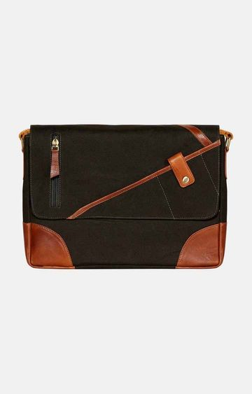SCHARF | Green Messenger Bag