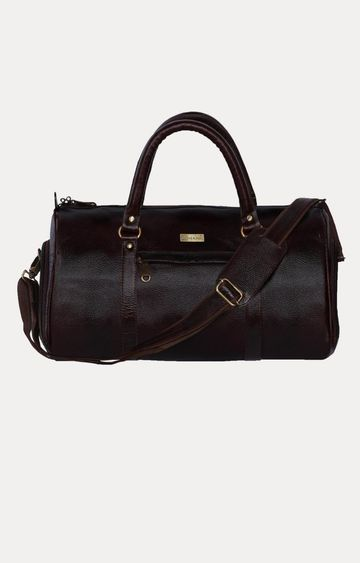 SCHARF | Brown Duffle Bag