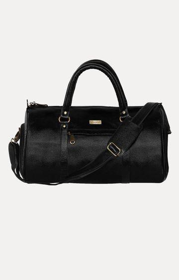 SCHARF | Black Duffle Bag