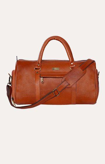 SCHARF | Tan Duffle Bag